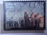 Sellos de Europa - España -  Ed:5031 - Migracion.