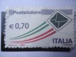 sellos de Europa - Italia -  Posteitaliane (0951). 0,70euro