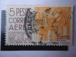 Stamps Mexico -  Scott/Mexico N° 266 - Quewrétaro - Arquitectura Colonial.