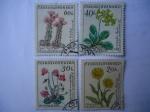 Sellos de Europa - Checoslovaquia -  Flora.