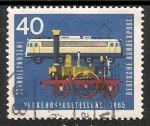 Sellos de Europa - Alemania -  Exhibicion de trafico