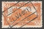Stamps France -  Tren