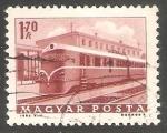 Sellos de Europa - Hungría -  Locomotiva a diesel