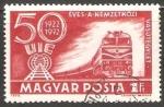 Stamps Hungary -  50 años del transporte ferroviario