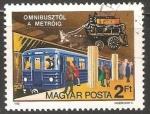 Sellos del Mundo : Europa : Hungría : 150 años del transporte publico en Budapest