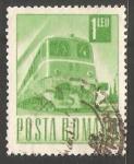 Sellos de Europa - Rumania -  Tren eléctrico a diesel
