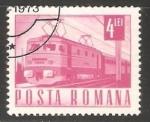 Stamps Romania -  Tren electrico