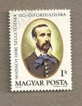 Stamps Hungary -  Imre Madach, poeta y autor teatral