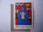 Sellos de Oceania - Australia -  Navidad 1999