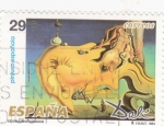 Stamps : Europe : Spain :  EL GRAN MASTURBADOR-DALÍ(29)