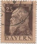 Sellos de Europa - Alemania -  Baviera Y & T Nº 80