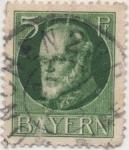 Sellos de Europa - Alemania -  Baviera Y & T Nº 95