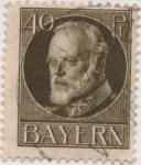 Stamps Germany -  Baviera Y & T Nº 100