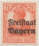 Sellos de Europa - Alemania -  Baviera Y & T Nº 139