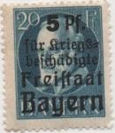 Stamps Germany -  Baviera Y & T Nº 173