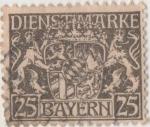 Sellos de Europa - Alemania -  Baviera Y & T Nº 22 [TS]