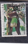 Sellos de Africa - Comores -  FLOR DE LA BANANA