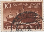 Stamps Germany -  Dantzig Y & T Nº 247