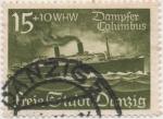 Stamps Germany -  Dantzig Y & T Nº 248
