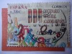 Sellos de Europa - España -  Ed:4847 - Centenario de la Real Academia Española 1713-2013.