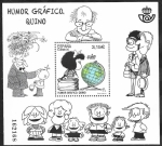 Sellos del Mundo : Europa : España : Mafalda, Humar gráfico Quino