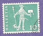 Stamps Switzerland -  INTERCAMBIO