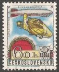 Stamps Czechoslovakia -  Dirigible