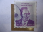 Sellos de Asia - Turquía -  Mustafa Kamal Ataturk 1881-1938.