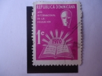 Stamps Dominican Republic -  Scott/R.Dominicana:C189 - A{o Internacional de la Educación