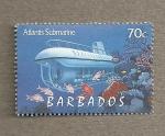 Stamps America - Barbados -  Navegación submarina