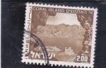 Stamps Israel -  PANORÁMICA DE CORAL ISLAND