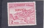 Stamps Pakistan -  PASO DE KHIBER-service