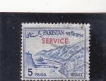 Sellos de Asia - Pakistán -  PASO DE KHIBER-service