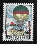 Stamps Czechoslovakia -  Balon