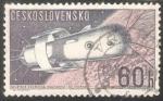 Sellos de Europa - Checoslovaquia -  Naves Espaciales