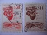 Stamps Yugoslavia -  Astillero Naval.