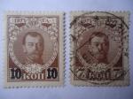 Stamps Russia -  Rusia- Zar: Nicolas II - Rusia Imperial. - Scott/Rusia:92