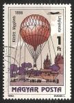 Sellos de Europa - Hungría -  Globos Aerostáticos