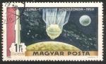 Stamps Hungary -  Aterrizaje en la Luna