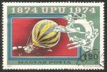 Stamps Hungary -  Globos Aerostáticos