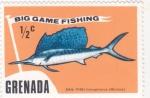 Stamps Grenada -  PEZ ESPADA