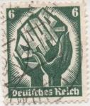 Stamps Germany -  SARRE Y & T Nº 509