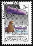Sellos de Europa - Hungría -  Zeppelin, Icebreaker