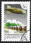 Sellos de Europa - Hungría -      Zeppelin