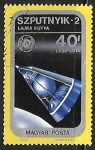 Sellos de Europa - Hungría -  Sputnik 2