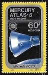 Sellos de Europa - Hungría -  Mercury-Atlas 5