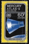Stamps Hungary -  Mercury-Atlas 5