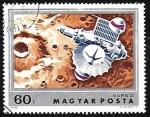 Stamps Hungary -  Mars 2 over Mars