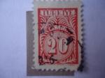 Stamps Turkey -  Turquía - Cifras.
