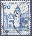 Stamps Germany -  ALEMANIA Schloss 70 (2)